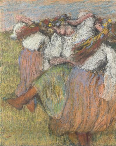 Постер на подрамнике Russian Dancers