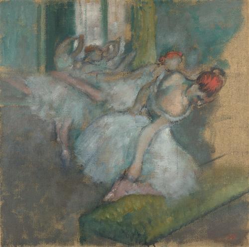 Постер на подрамнике Ballet Dancers