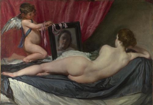 Постер на подрамнике The Toilet of Venus (The Rokeby Venus)