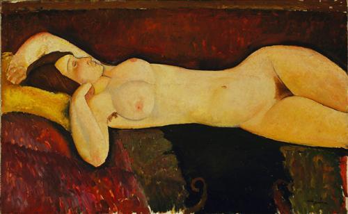 Постер на подрамнике Reclining Nude