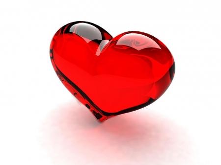 Постер на подрамнике Стеклянное сердце
