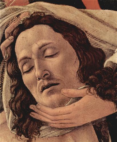 Плакат Weeping Christ (detail)