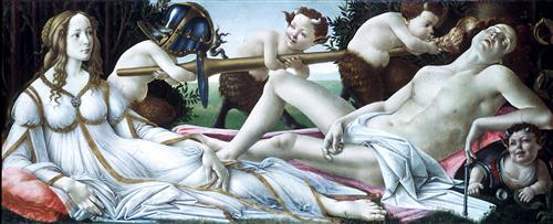 Постер на подрамнике Venus and Mars