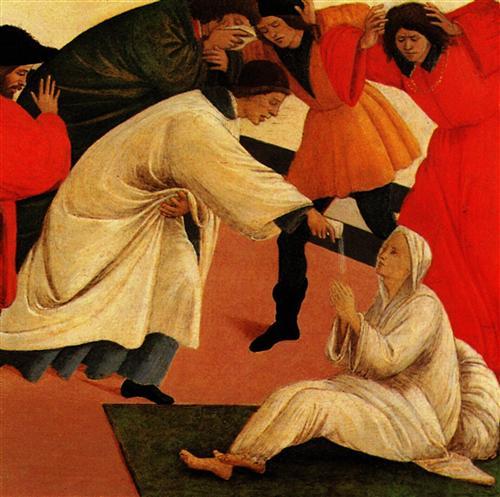 Постер на подрамнике Three miracles of saint Zenobius (detail 2)