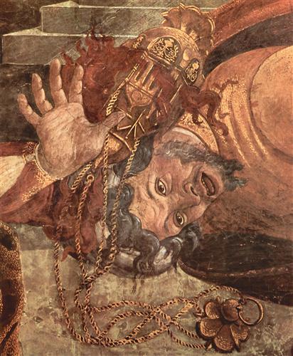 Постер на подрамнике The punishment of the Leviter (detail)