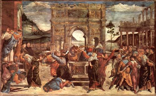 Плакат The punishment of the Leviter