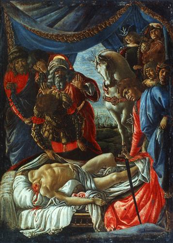 Плакат The Discovery of the Murder of Holofernes