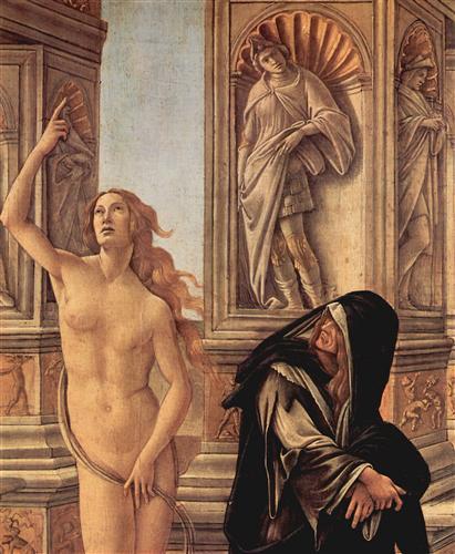 Постер на подрамнике The Calumny of Apelles (detail)