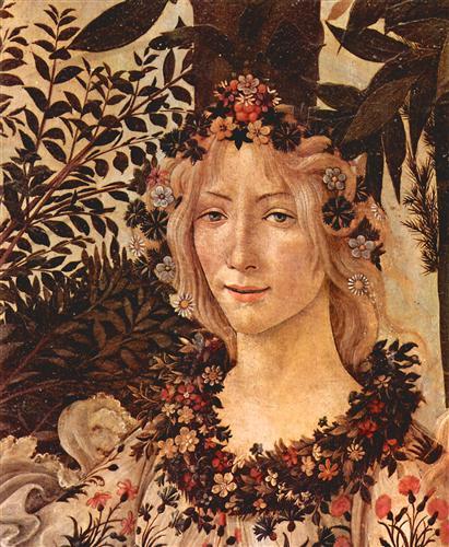Постер на подрамнике Spring Primavera (detail Flora)
