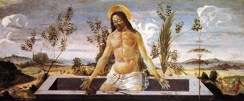 Плакат Predella table of the San Barnaba Altar (4)