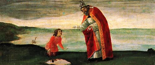 Плакат Predella table of the San Barnaba Altar