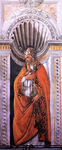 Плакат Portrait of the pope, Staint Sixtus II