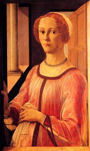Плакат Portrait of Smeralda Brandini