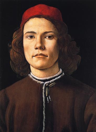 Плакат Portrait of a young man