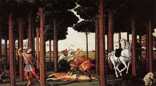 Плакат Nastagio degli Onesti (second episode)