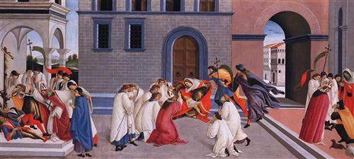 Плакат Miracle of St. Zenobius