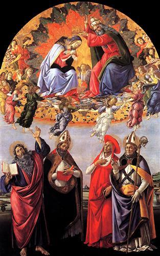 Плакат Coronation of Madonna