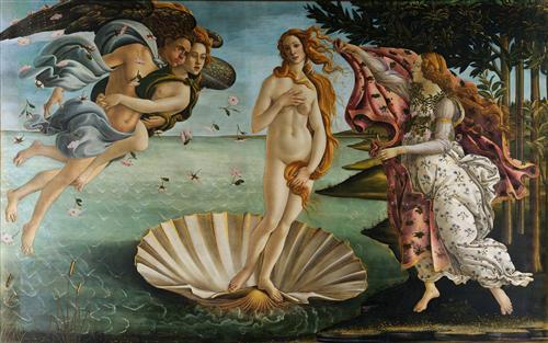 Плакат Birth of Venus