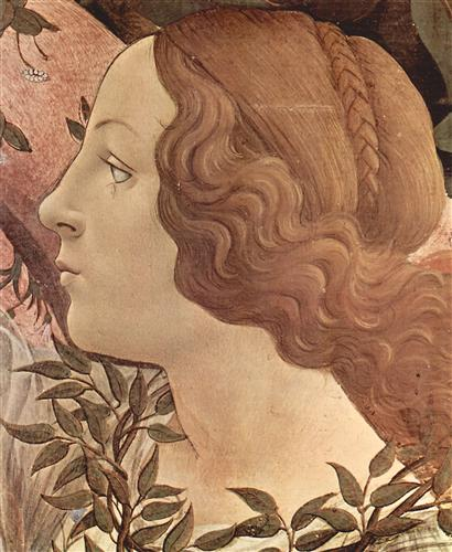 Плакат Birth of the Venus (detail 2)