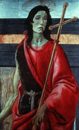 Постер на подрамнике Святой