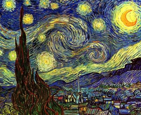 Постер на подрамнике Starry Night