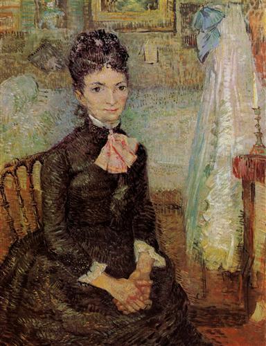 Постер на подрамнике Woman Sitting by a Cradle