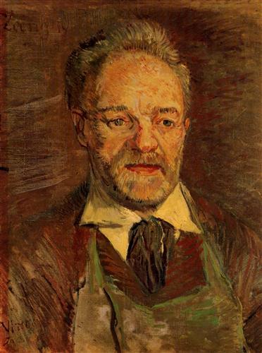 Постер на подрамнике Portrait of Pere Tanguy 2
