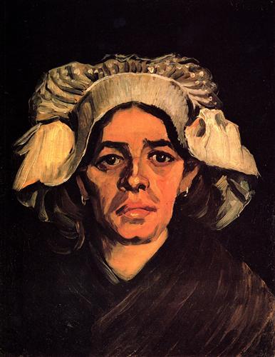 Постер на подрамнике Head of a Woman 9