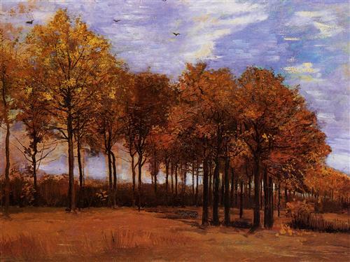 Постер на подрамнике Autumn Landscape