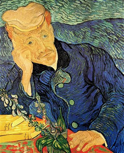 Постер на подрамнике Portrait of Doctor Gachet 2