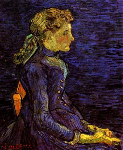 Постер на подрамнике Portrait of Adeline Ravoux 2