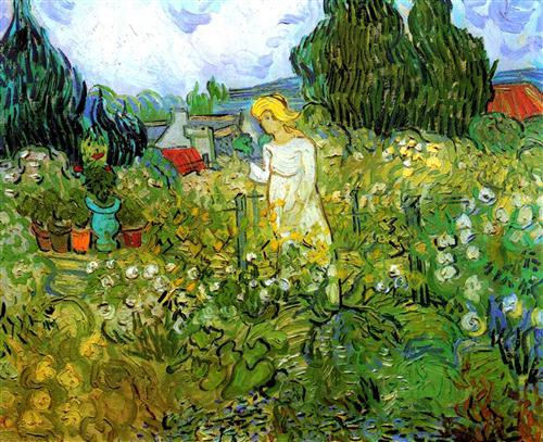 Постер на подрамнике Marguerite Gachet in the Garden