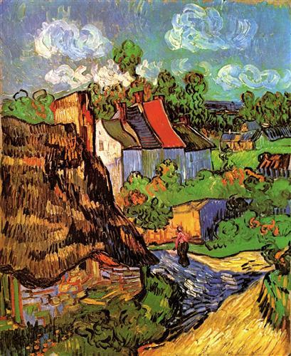 Постер на подрамнике Houses in Auvers