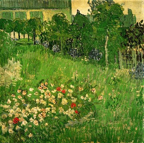 Постер на подрамнике Daubigny s Garden