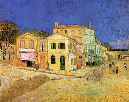 Постер на подрамнике Vincent s House in Arles The Yellow House
