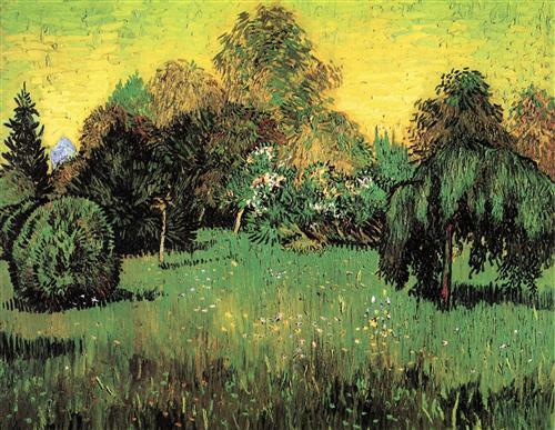 Постер на подрамнике The Poet s Garden