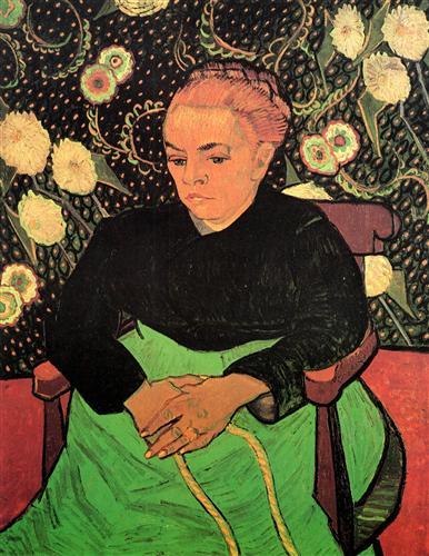 Постер на подрамнике Madame Roulin Rocking the Cradle La Berceuse