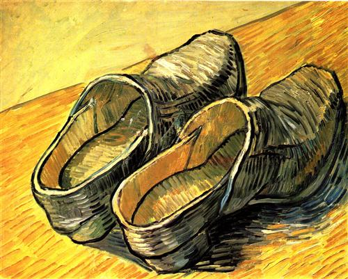 Постер на подрамнике A Pair of Leather Clogs