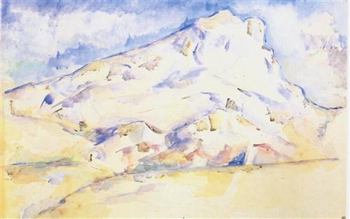 Постер на подрамнике La montagne Sainte-Victoire (6)