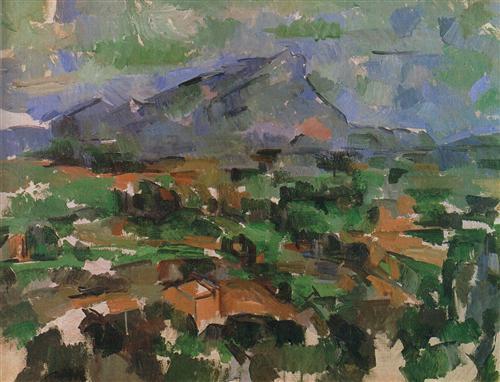 Постер на подрамнике La Montagne Sainte-Victoire (4)