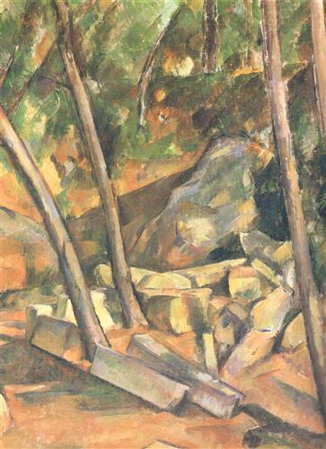 Постер на подрамнике La Meule dans le Parc de Chateau Noir Detail (vers)