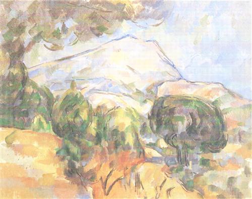 Плакат La Montagne Sainte-Victoire (2)