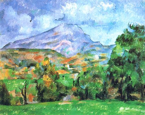 Постер на подрамнике La Montagne Sainte-Victoire (1)