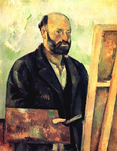 Плакат Cezanne a la Palette