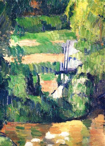 Постер на подрамнике Moulin sur la Couleuve, pres de Pontoise Detail