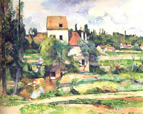 Плакат Moulin sur la Couleuve, pres de Pontoise