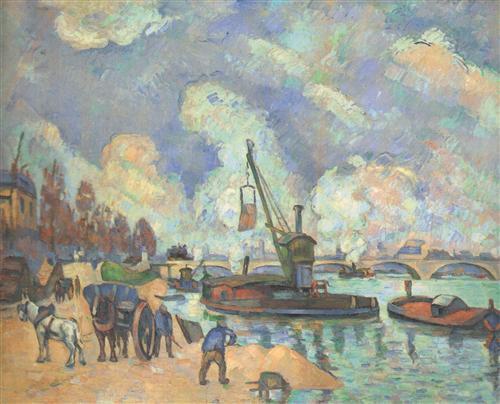 Плакат Les quais de Bercy