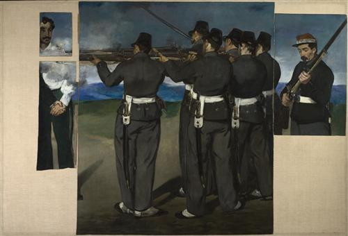 Постер на подрамнике The Execution of Maximilian
