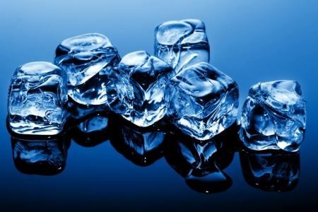 Постер на подрамнике Кубики льда