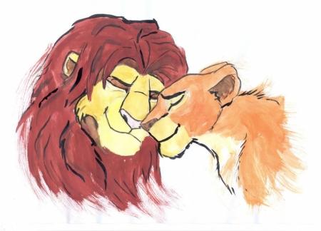 Постер (плакат) Король лев